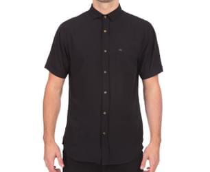 Globe Men's Goodstock Rayon Shirt - Black