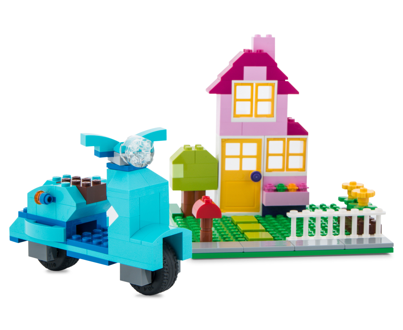 Lego classic creative building box large ebay for Creative lego ideas