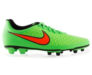 Nike Men's Magista Ola FG Football Boot - Green/Orange/Black