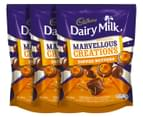 3 x Cadbury Marvellous Creations Toffee Nutters 150g 1