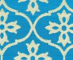 Cross 240x150cm Recycled Outdoor Rug - Blue/White 5