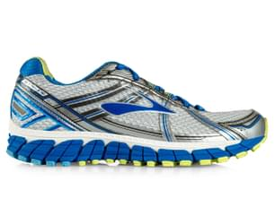 Brooks Women's Adrenaline GTS 15 Shoe - White/Dazzling Blue/Sharp Green
