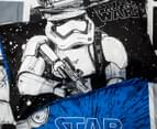 Kids' Star Wars Movie Storm Trooper Single Quilt Cover Set - Blue/Black 5