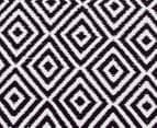 Dreamy Cotton Flatweave 220x150cm Reversible Rug - Black 4