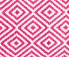 Dreamy Cotton Flatweave 270x180cm Reversible Rug - Pink 4