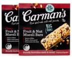 Carman's Classic & Original Muesli Bars 24pk 3