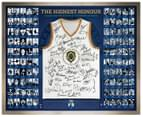 The Highest Honour 'History Of The Brownlow Medal' 1310x1070mm Signed & Framed Guernsey 1