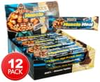 12 x Max's Muscle Meal High Protein Bars Cookies & Cream 85g 1