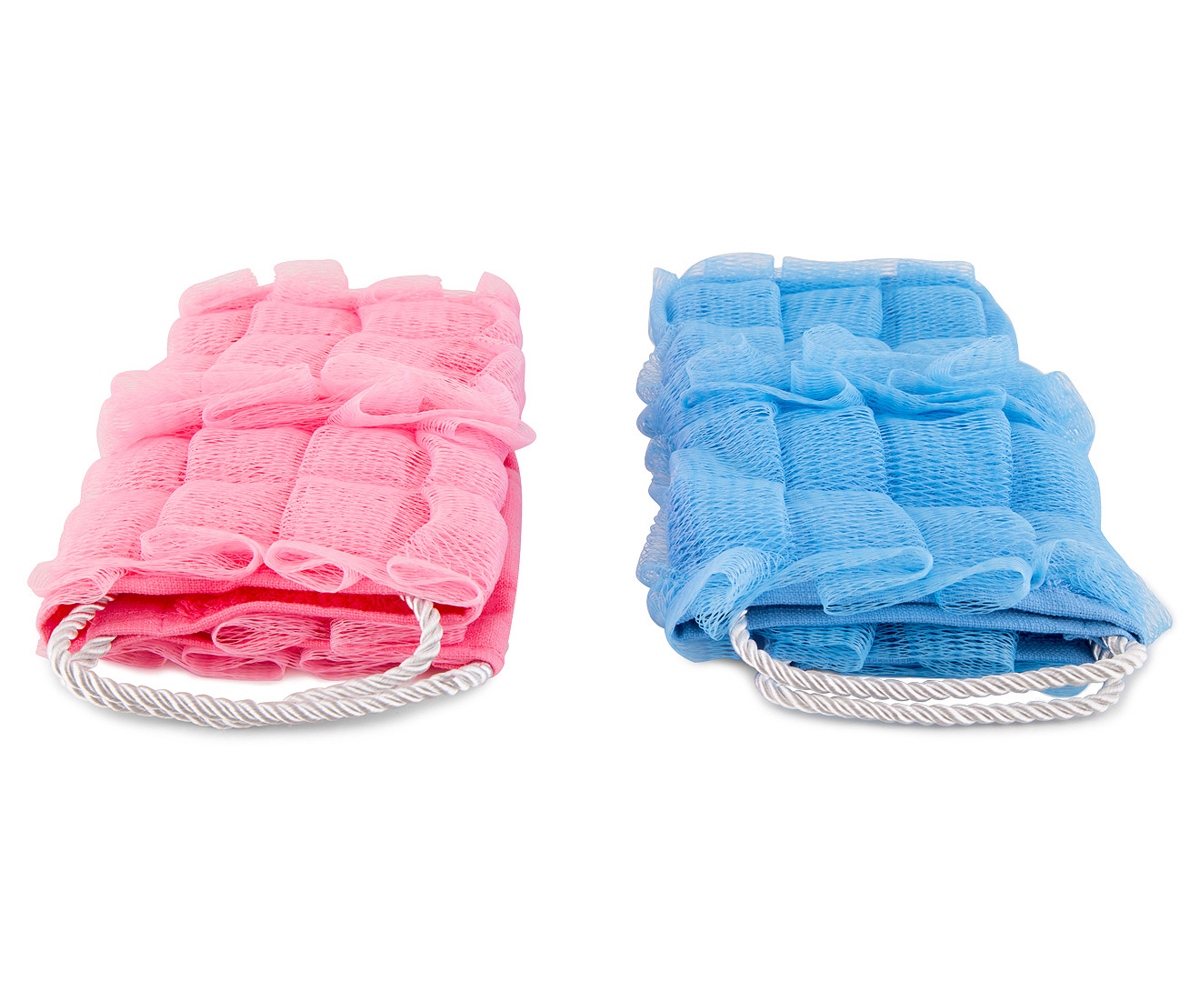 Image result for Easy Reach Loofa Cloth 2pk - Pink/Blue- https://www.catchoftheday.com.au