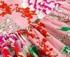 Cinnamon Girl Ava Floral Dress - Pink 3