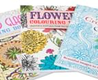 Creative Colouring 3-Book Pack with Pencils 4