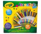 Crayola 60-Piece Essentials Set 1