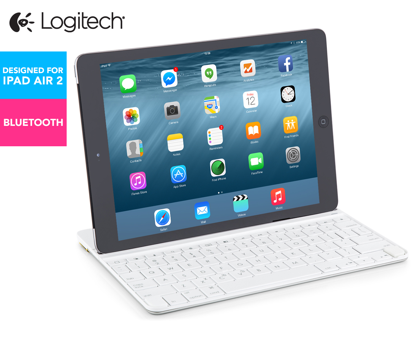 logitech ultrathin keyboard for ipad air manual