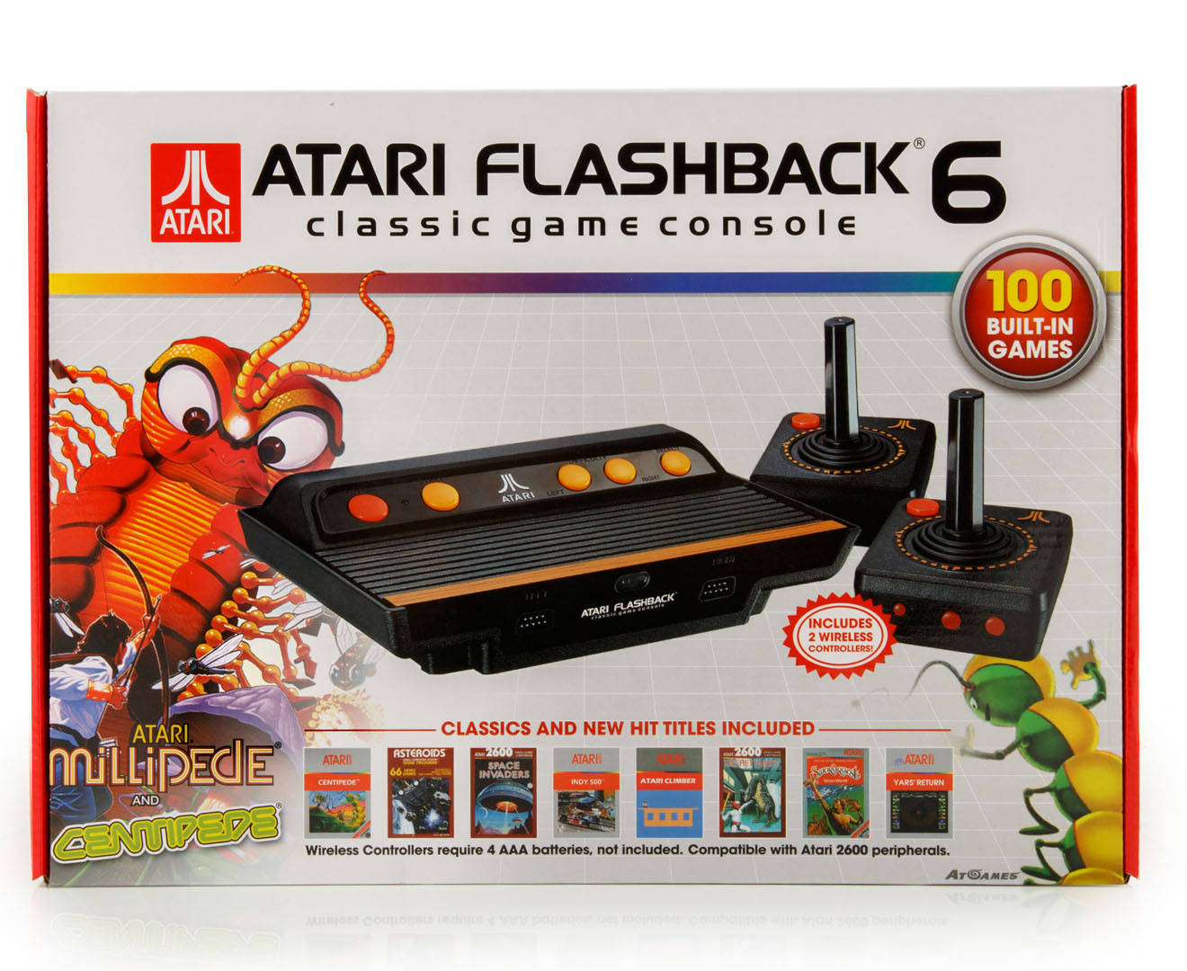 Atari flashback 6 classic game console 100 built in games picclick au - Atari flashback 3 classic game console ...