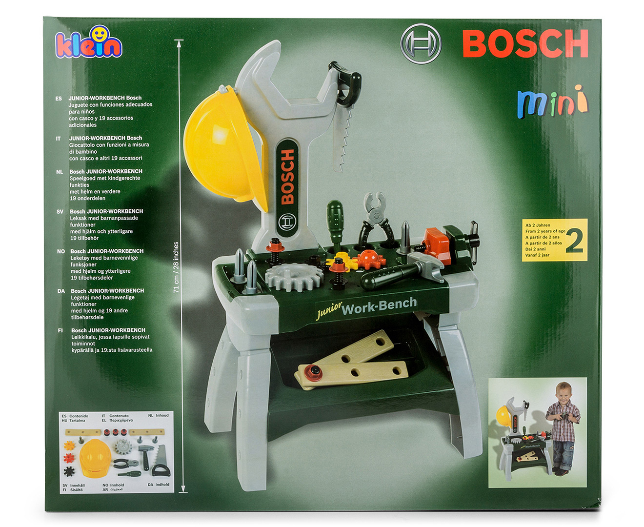 bosch mini junior workbench. Black Bedroom Furniture Sets. Home Design Ideas