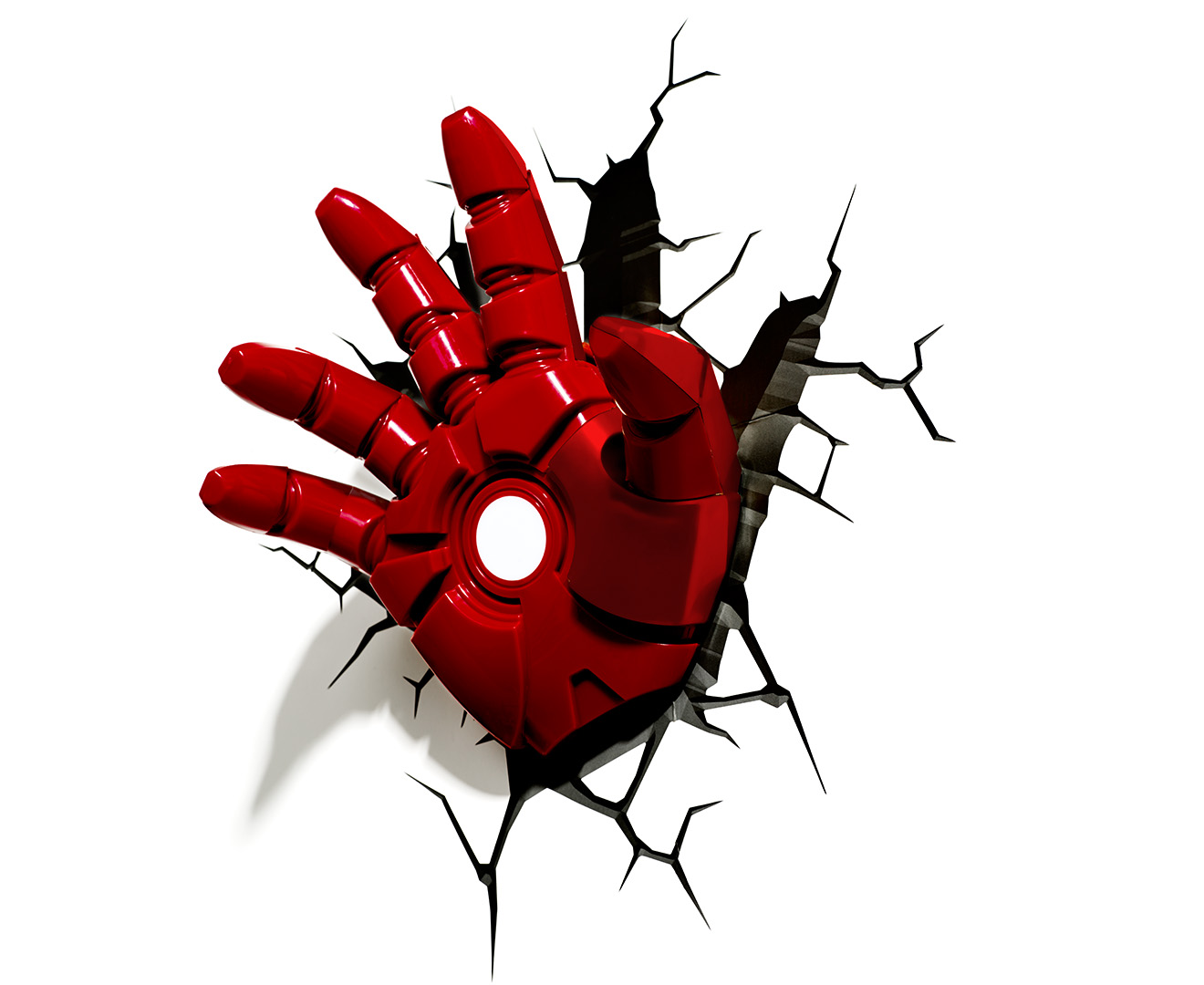 Marvel Wall Lights Iron Man : 3D Marvel Iron Man Hand Wall Light - Red eBay