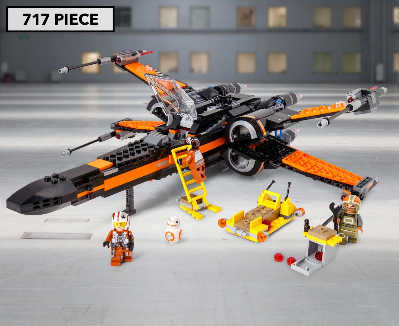 lego star wars poe 39 s x wing fighter set ebay. Black Bedroom Furniture Sets. Home Design Ideas