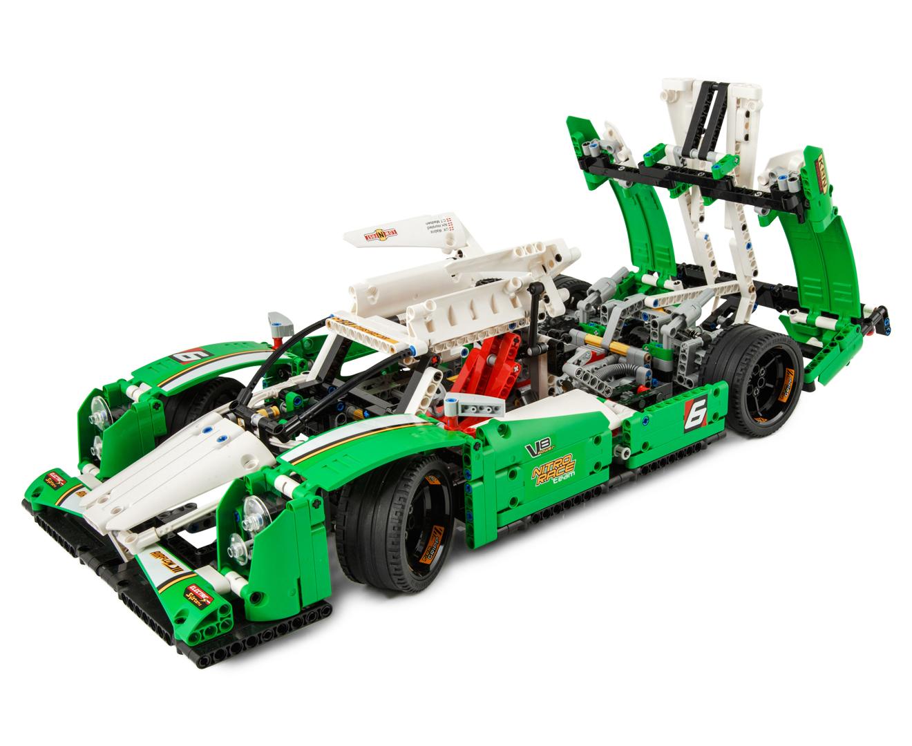 lego technic 24 hours race car building set ebay. Black Bedroom Furniture Sets. Home Design Ideas