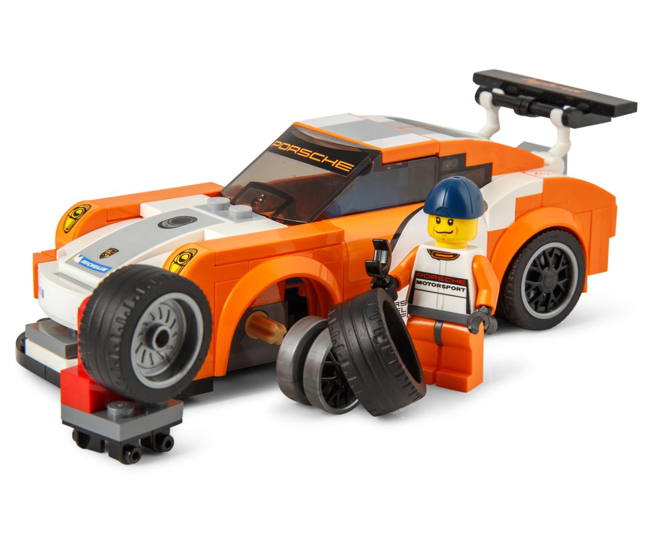 lego speed champions porsche 911 gt finish line building set. Black Bedroom Furniture Sets. Home Design Ideas