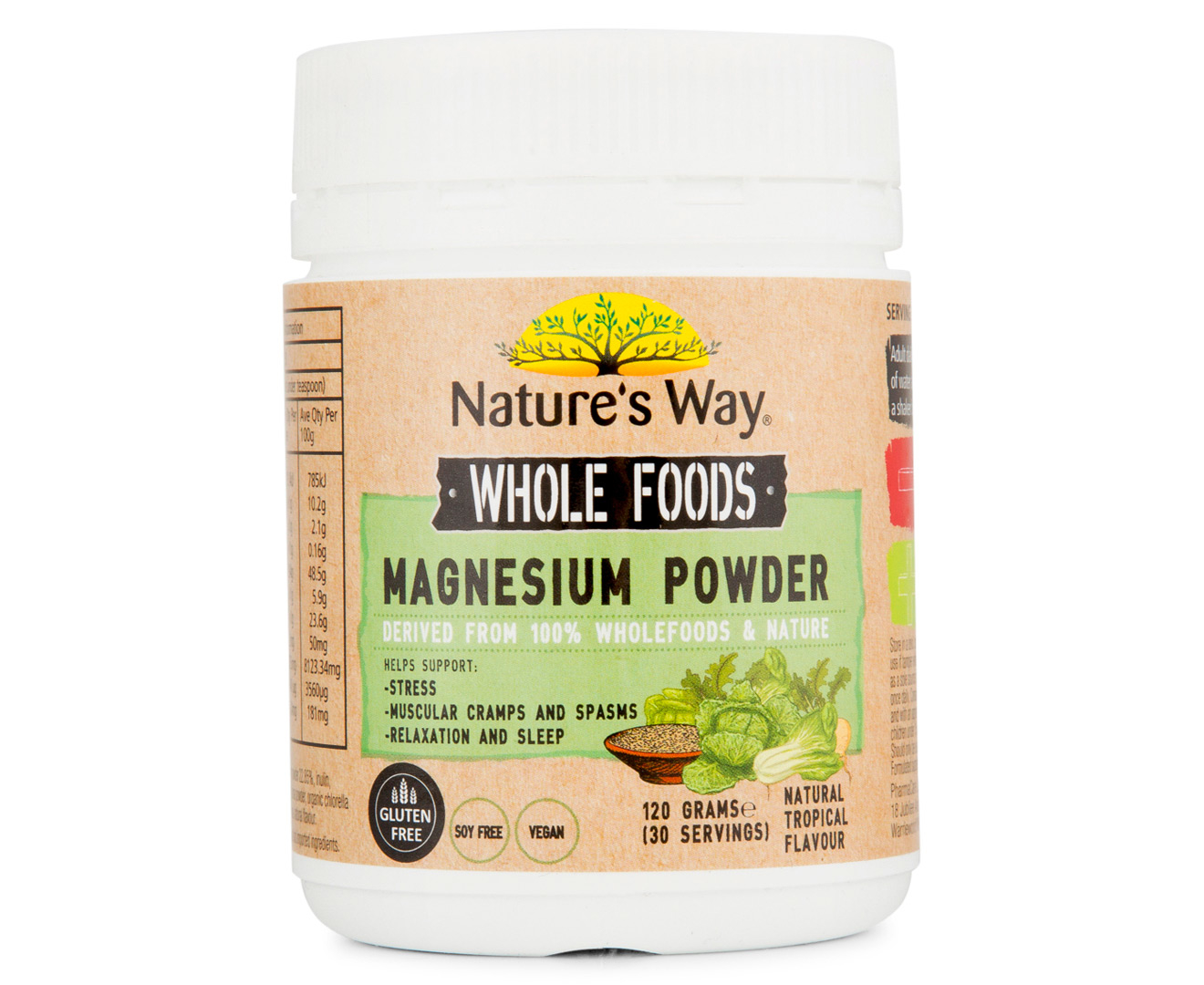 magnesium way powder nature wholefoods