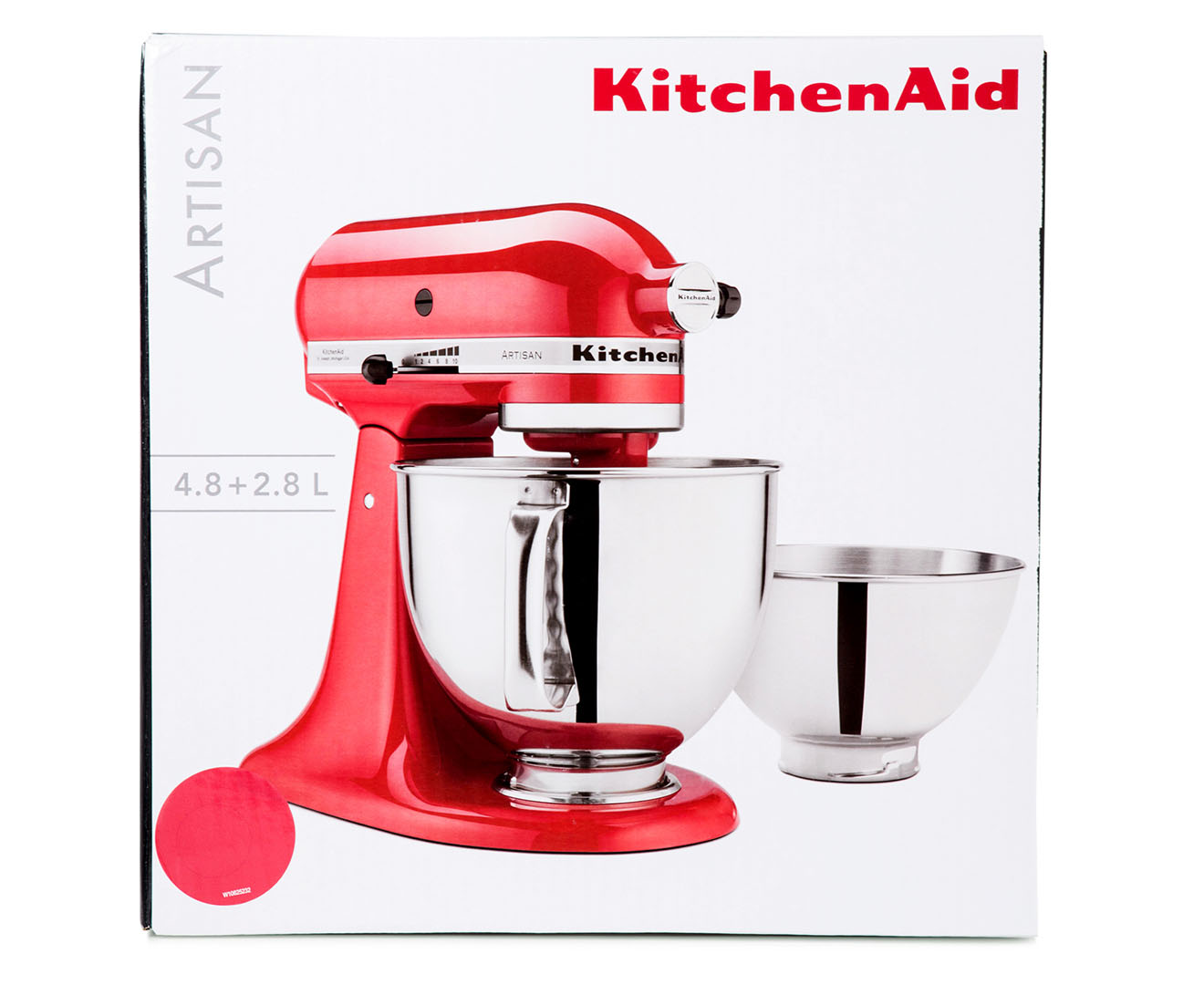 kitchenaid ksm160 artisan stand mixer watermelon red ebay