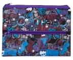 Monster High Large 2-Zip Pencil Case 1