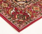 Traditional Compartment 230x160cm Fashion Rug - Red 2
