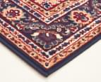 Traditional Medallion 330x240cm Fashion Rug - Blue 2