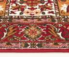 Traditional Compartment 330x240cm Fashion Rug - Red 3