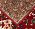 Traditional Compartment 330x240cm Fashion Rug - Red 4