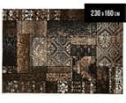 Byzanti Patch 230x160cm Rug - Fume 1