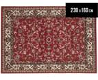 Traditional Design 230 x 160cm Rug - Red 1