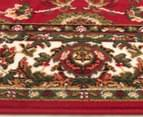 Traditional Design 230 x 160cm Rug - Red 3