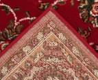 Traditional Design 230 x 160cm Rug - Red 4