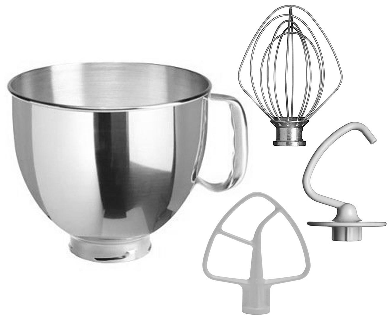 kitchenaid k5ss bowl lift stand mixer refurb white ebay