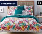 Sheridan Botanik Double Standard Quilt Cover Set - Fiesta    1