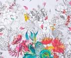 Sheridan Botanik Double Standard Quilt Cover Set - Fiesta    3