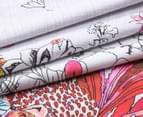 Sheridan Botanik Double Standard Quilt Cover Set - Fiesta    4