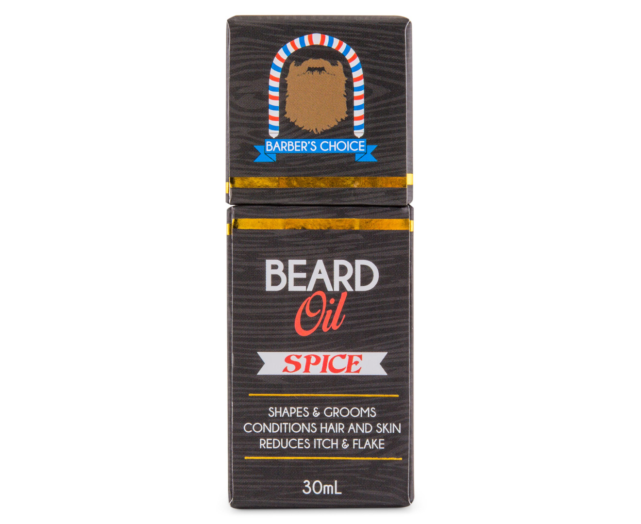 scoopon shopping barber 39 s choice beard oil spice 30ml. Black Bedroom Furniture Sets. Home Design Ideas