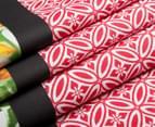 Belmondo Osaka King Bed Quilt Cover Set - Multi 4