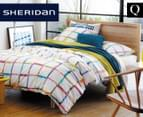Sheridan Beaton Queen Quilt Cover Set - Chartreuse 1