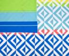 Apartmento Carlos Reversible Double Quilt Cover Set - Multi 5