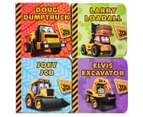 Little Library JCB Pull Along Books 3