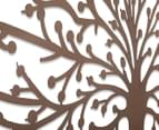 Floating Tree of Life 115x45cm Laser-Cut Metal Wall Art 4