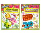 Shopkins 4-Book Sticker Activity Pack 3