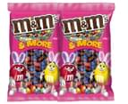 2 x M&M's & More Mini Easter Eggs 500g 1