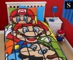 Super Mario Retro Single Duvet Set - Multi 1