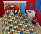 Super Mario Retro Single Duvet Set - Multi 3