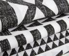 Belmondo Barundi Double Bed Quilt Cover Set - Black/White 3