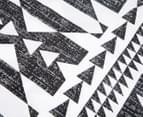 Belmondo Barundi Queen Bed Quilt Cover Set - Black/White 5